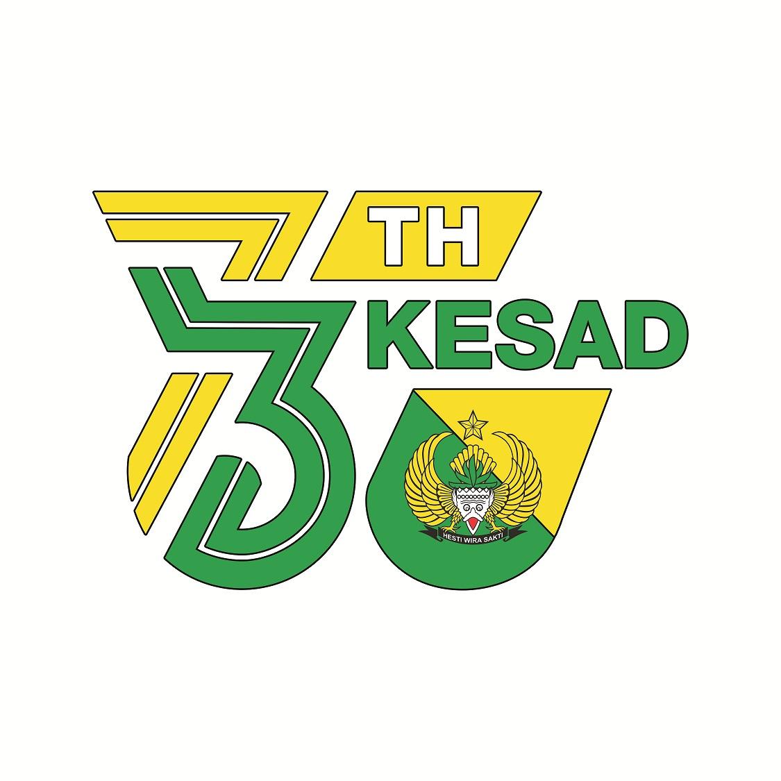 Logo HUT ke 73 Kesad
