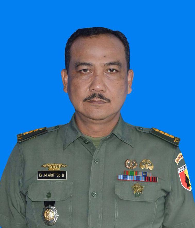 dr. M. Arif, Sp. B