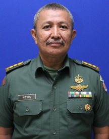 Kolonel Ckm Novis Antoni, S.K.M