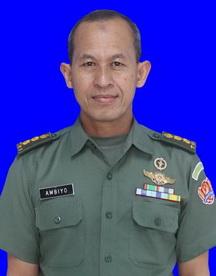 Kolonel Ckm Drs. Ambiyo, Apt., M.Si
